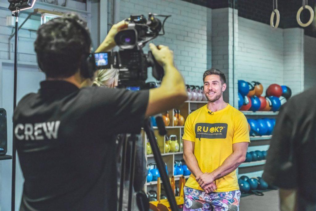 Khan Porter RUOK? Community Fitness Challenge Ambassador
